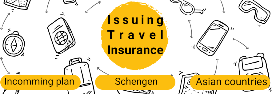 Issuing travel insurance
